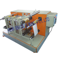 Thermal Transfer Overprinter (TTO) With Winding Rewinding Machine