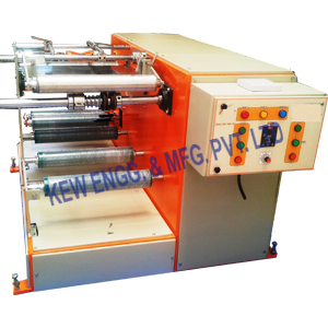 Winding Rewinding Machine Without Slitting System