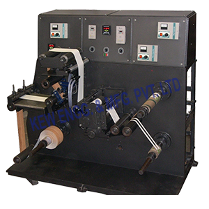 Label Stock Doctoring Rewinding Machine